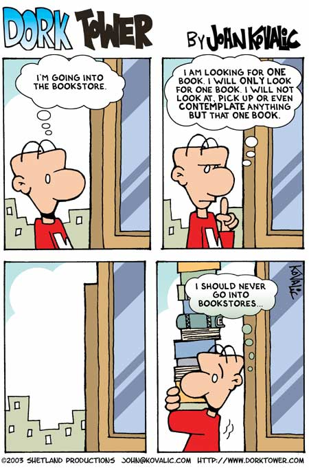 Book fever comic